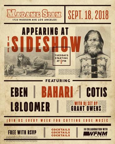 LA Show 9/18!