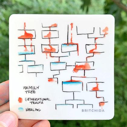 Sticker: Generational Trauma / Healing