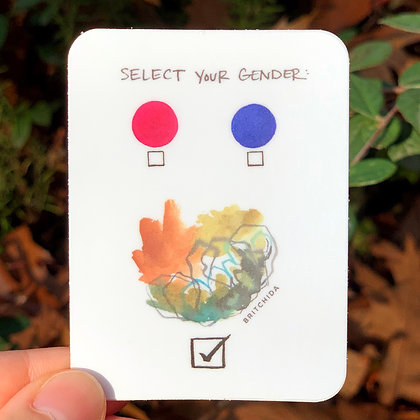 Sticker: Select Your Gender 2