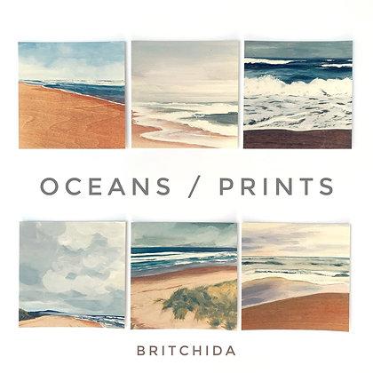 Print Set: Oceans