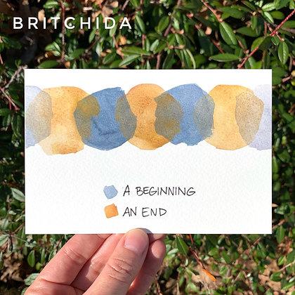 A Beginning / An End