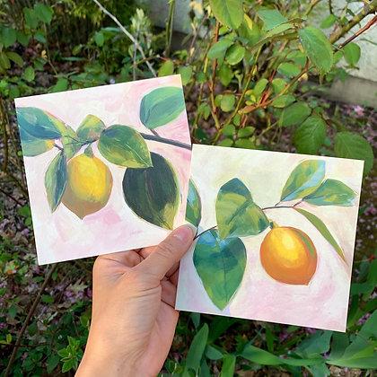 Print Set: Lemons