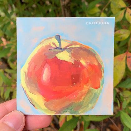 Sticker: Apple