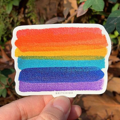 Sticker: Pride Flag