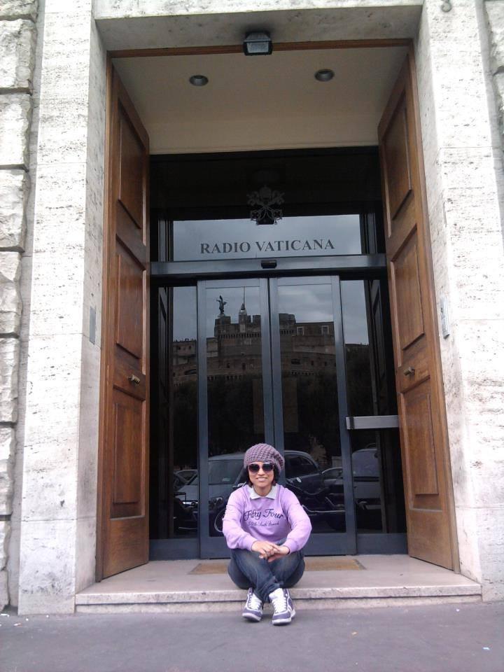 experiencia de Cielo Holguin en Italia