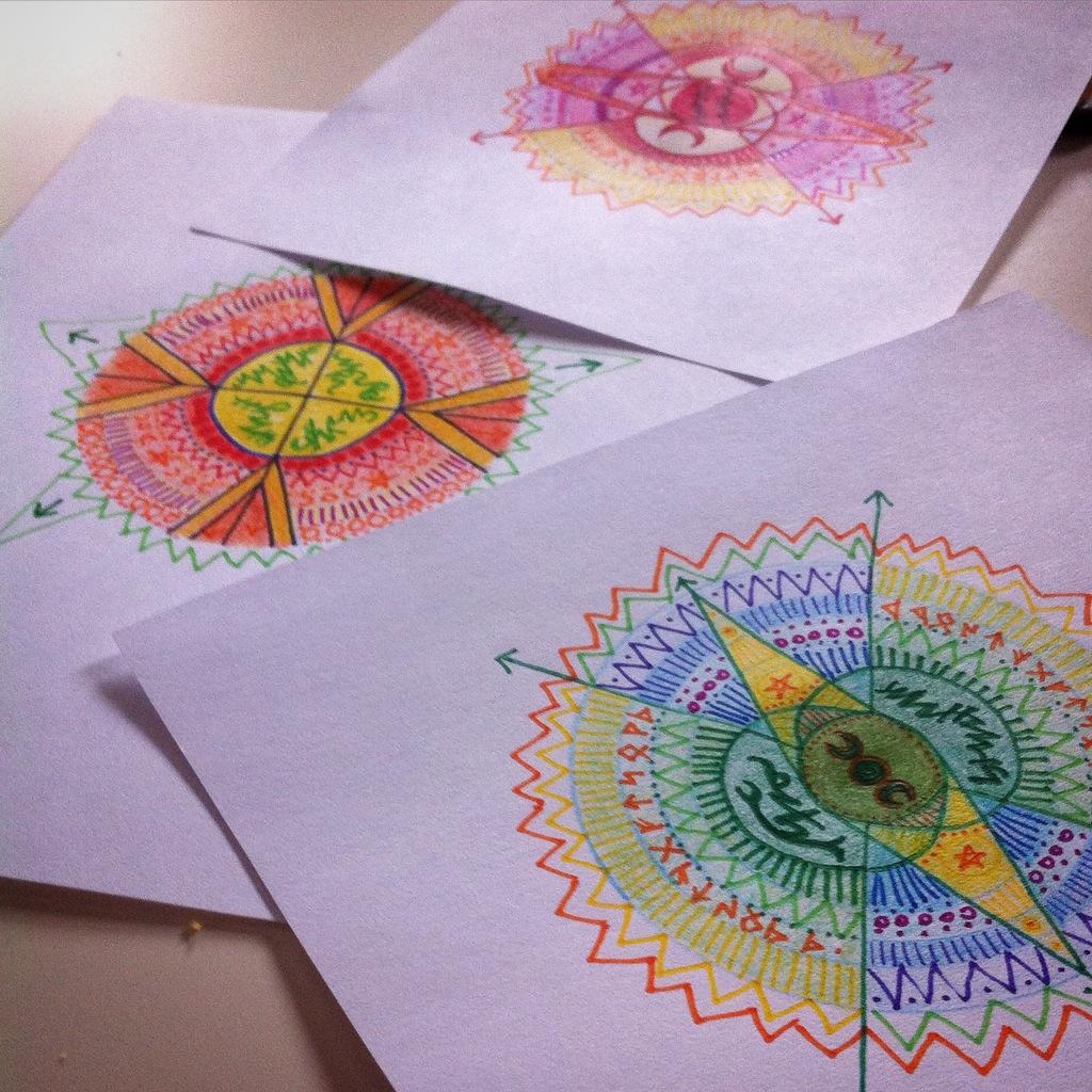 Set of 3 bespoke talismans & sigils