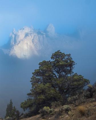 Morning Fog at Smith Rock