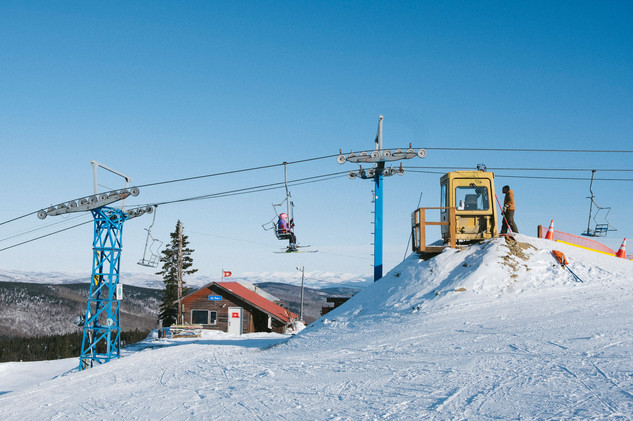 The Northernmost Ski Lift in North America