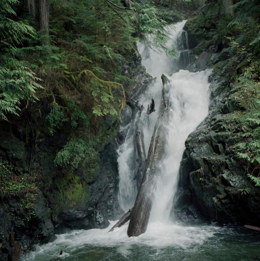 Waterfall Below Lake 22