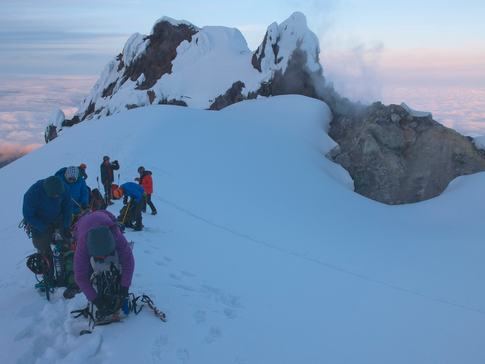 Last Stop Before the Summit