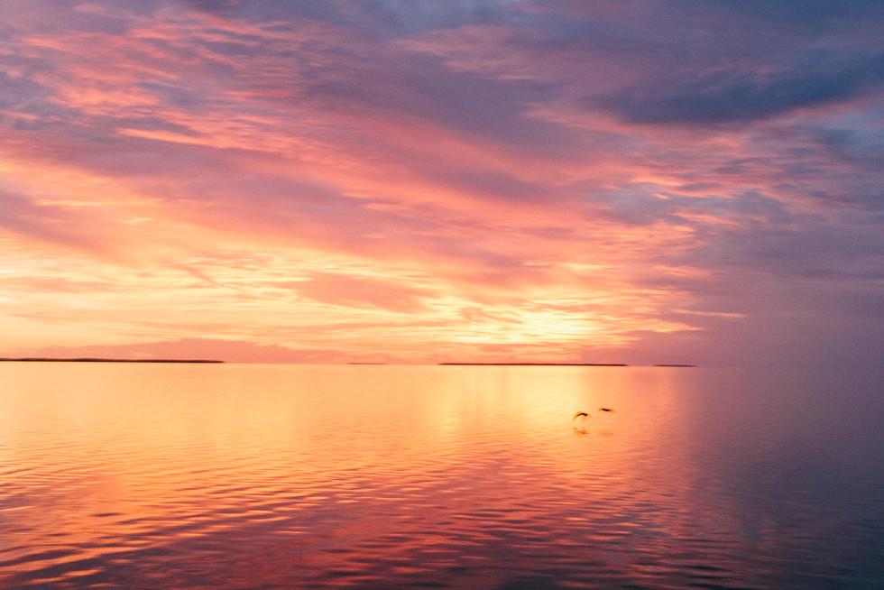 Sunset Over Florida Bay