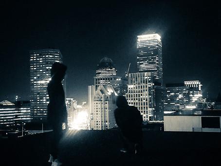 Big city, Bright lights.