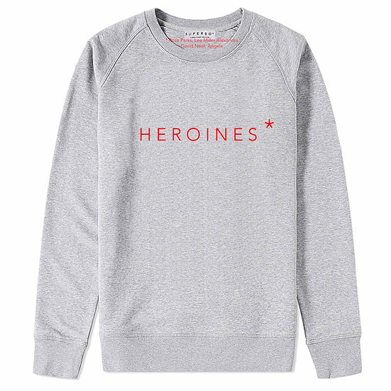 HEROINES* SWEATER GREY