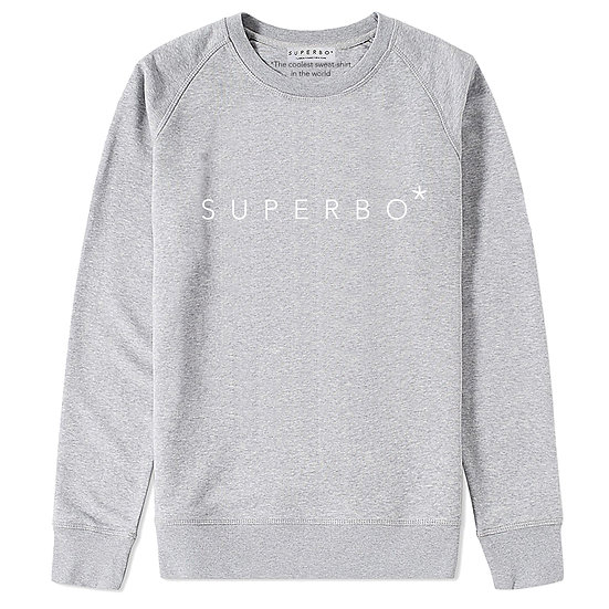 SUPERBO* SWEATER GREY