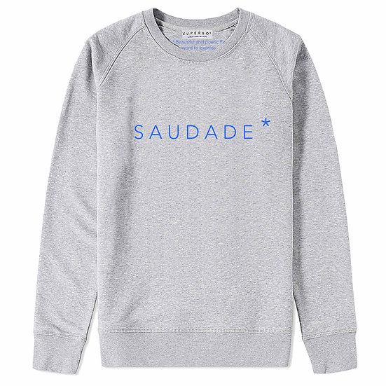 SAUDADE* SWEATER GREY