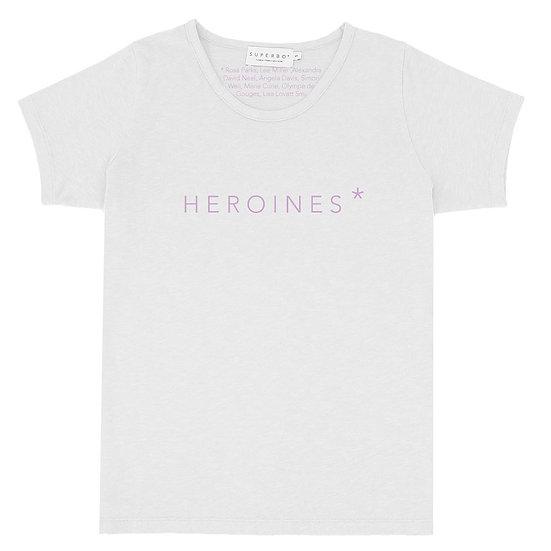 HEROINES* T-SHIRT
