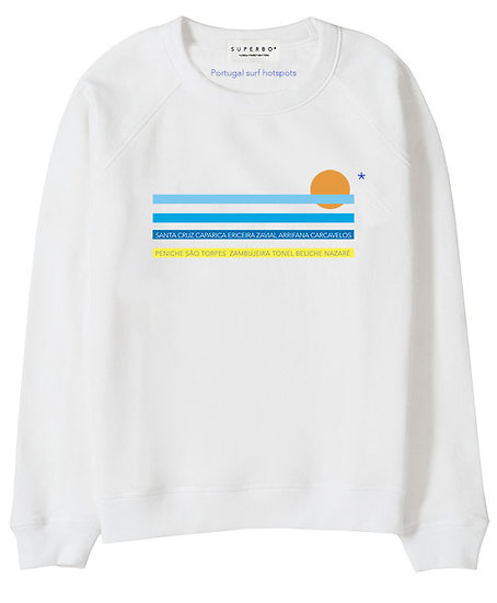 SURF* SWEATER WHITE