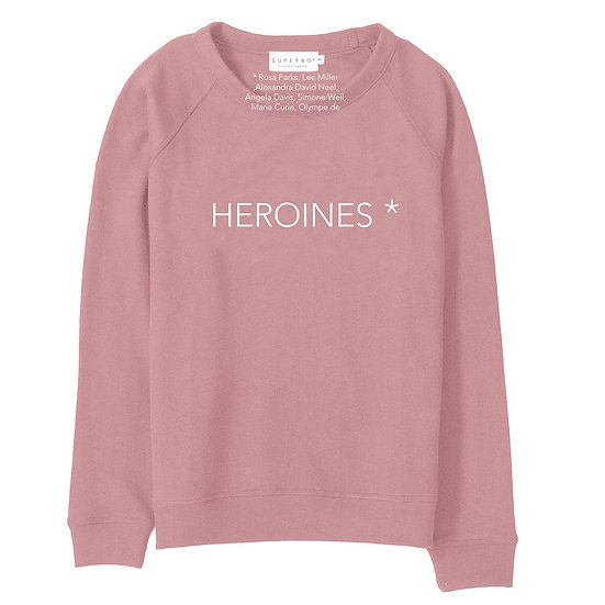 HEROINES* SWEATER DUSTY PINK