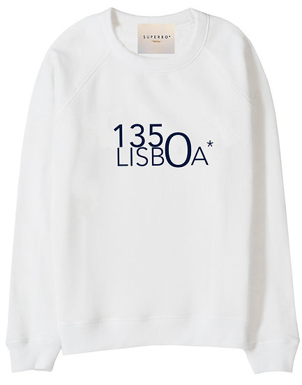 1350 LISBOA* SWEATER WHITE
