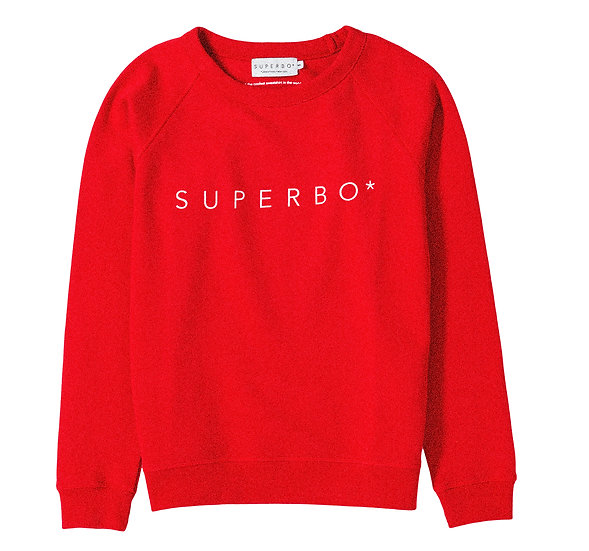 SUPERBO* SWEATER RED