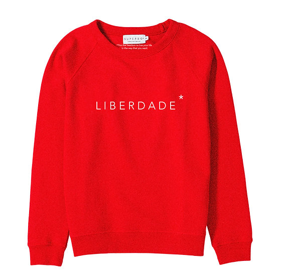 LIBERDADE* SWEATER RED