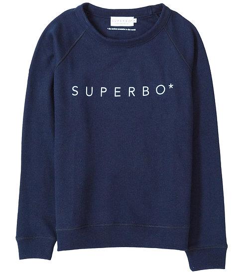 SUPERBO* SWEATER DARK BLUE