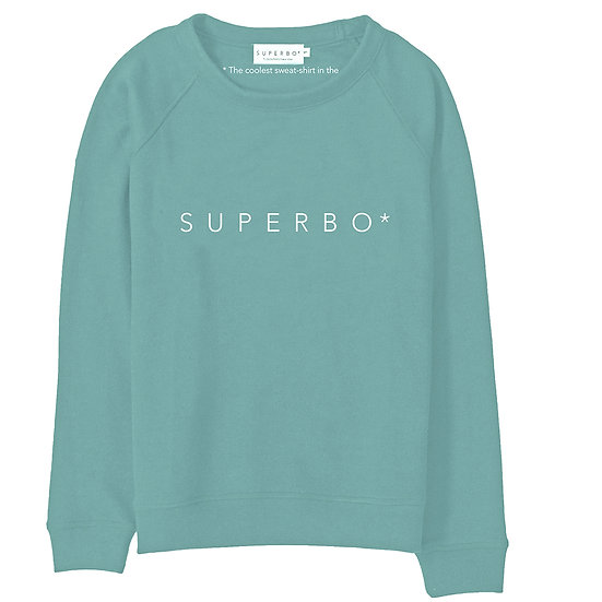 SUPERBO* SWEATER ARTIC GREEN
