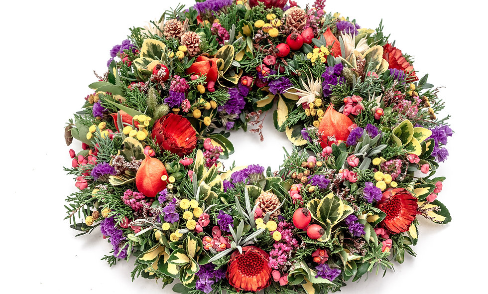 Stylish Floral Wreath