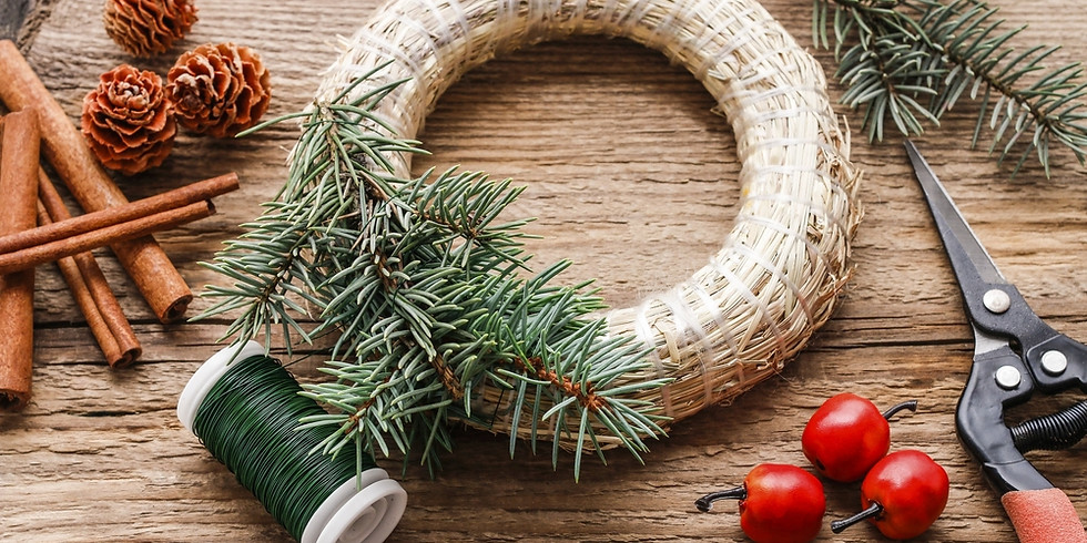 Christmas Wreath Workshop Friday December 4th 7:30pm