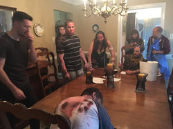 """Behind the scenes of """"The Last Supper"""""""