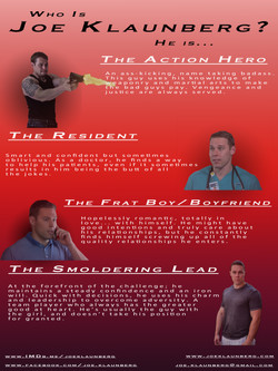 Actor Joe Klaunberg Castability