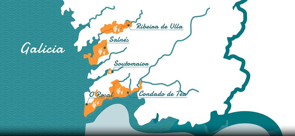 mapa-DO-Rías Baixas