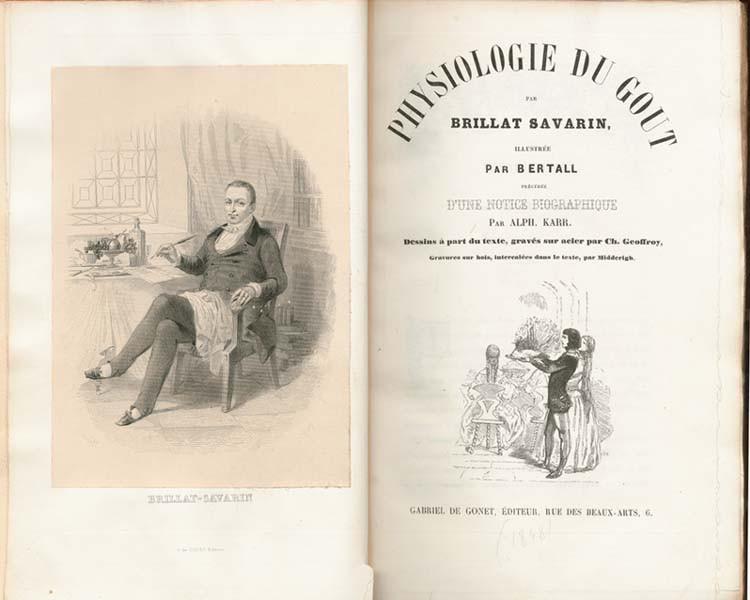 fisiología del gusto - Brillan Savarin