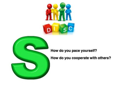 "NEW YEAR, NEW YOU: DISC Insights - The ""S"" style:"