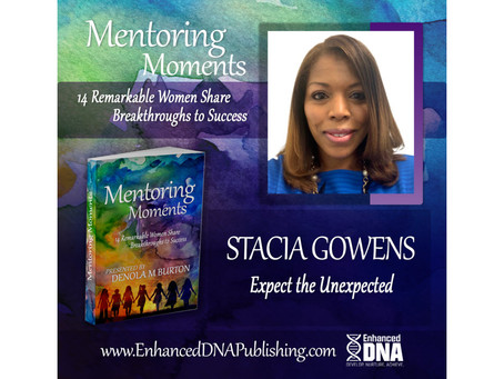 Expect the UNexpected - Excerpt from Mentoring Moments