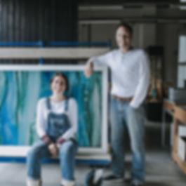 Amanda Notarianni and Charlie Macpherson