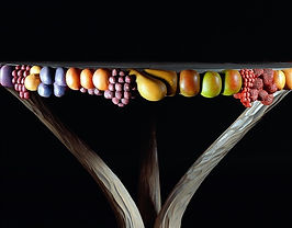 English Fruits table detail. JM-190-04_2
