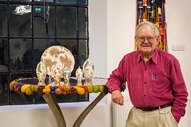 John Makepeace with Fruit Table, photo R