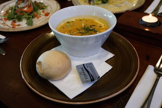 Roast Honey Pumpkin Soup