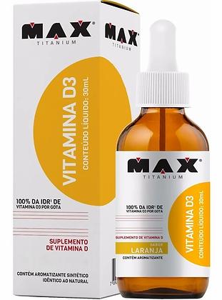 VITAMINA D3 30ML MAX TITANIUM
