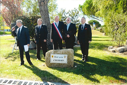 2011: inauguration du rond point d'herborn