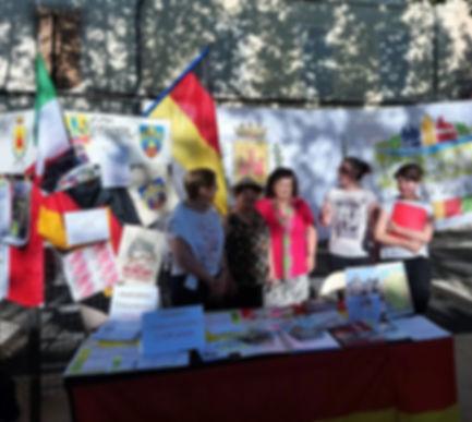 Stand comité de jumelage Pertuis herborn Journée des associations  8-09-2018