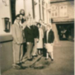 1967:première visite préparatoire de Pertuisiens à Herborn pour la mise en place du jumelage Pertuis Herborn