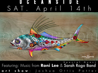 Art Show @ Moose Lodge in Oceanside April 14th Sat.