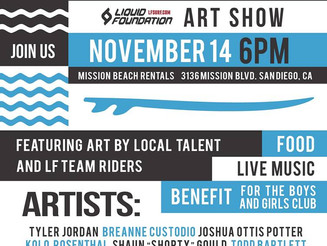 Art Show Nov. 14th 6:00pm San Diego