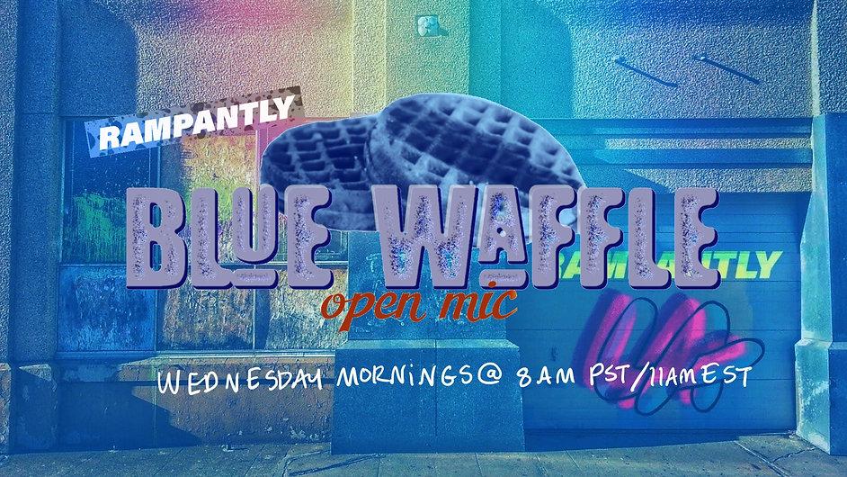 blue waffle banner fall 2021