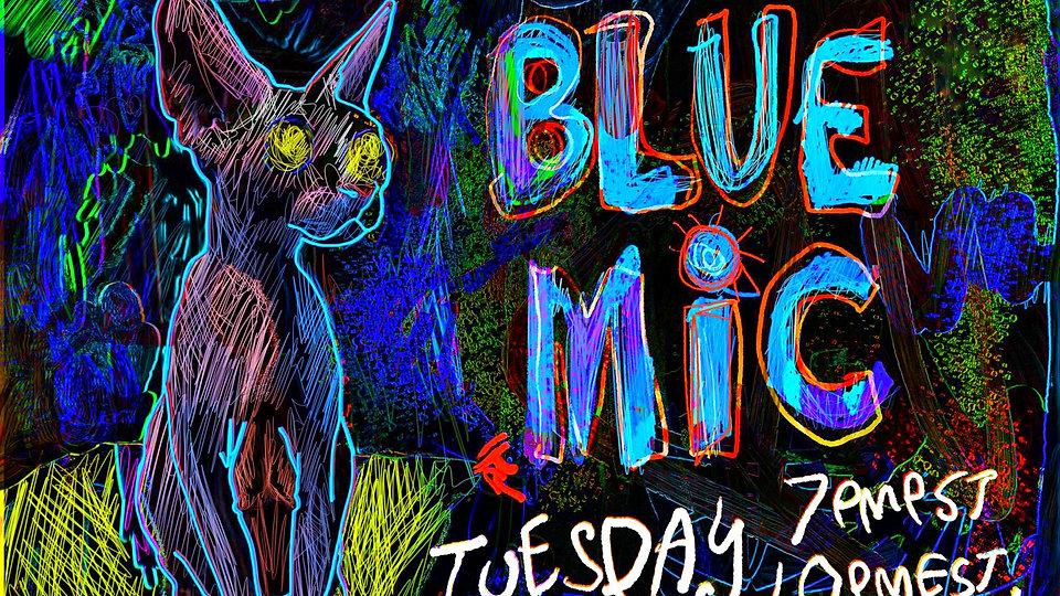 Blue Mic Show  Rampantly's  LV Las Vegas