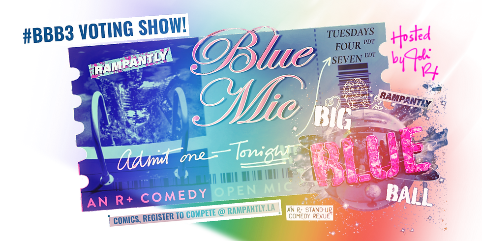 Blue Mic #26: VOTING SHOW! BBB Semi-Finals!