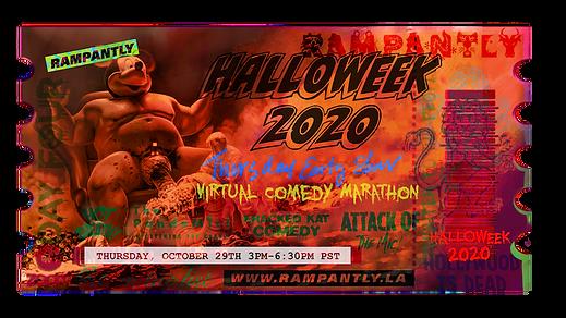 Halloweek 2020 Thursday Early Show Ticke