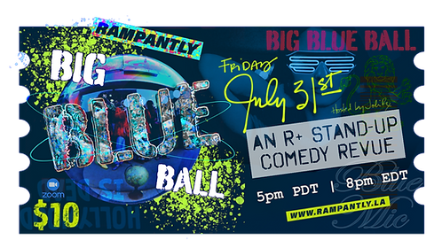 🎟️ BIG BLUE BALL | Blue Mic Feature Show!